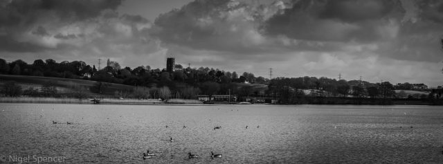 Pano over Budworth Mere