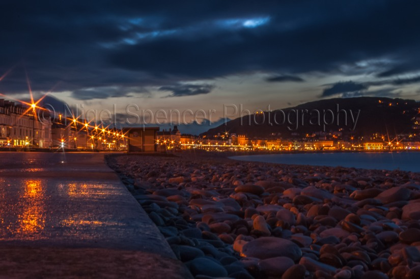 Llandudno at night